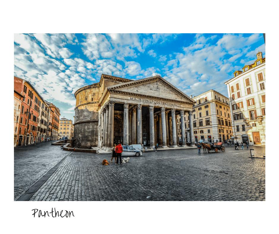 רומא פנתאון נקודות עניין