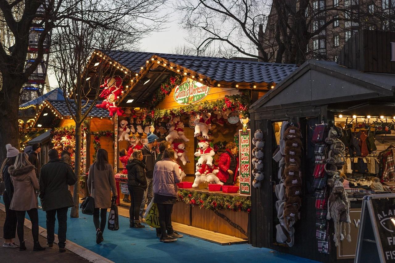 שווקי חג המולד באמסטרדם
