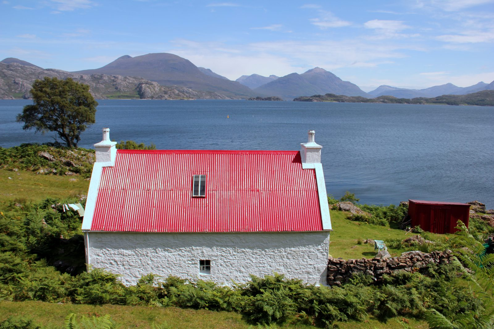 מסלול סקוטלנד היילנדס בית קטן