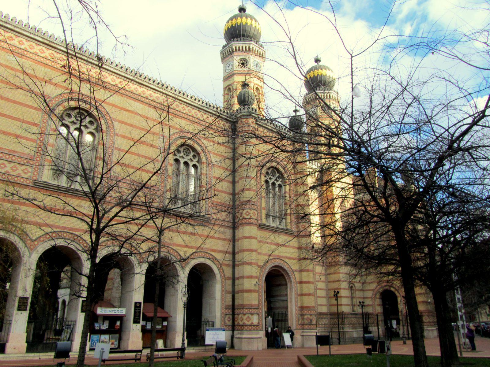 טיול בבודפשט בית הכנסת הגדול