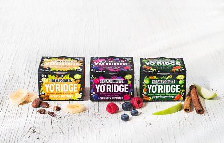 לאחר הצלחה בשוק הבריטי: YO'RIDGE – שילוב טבעוני של יוגורט ופורידג' מושק בישראל
